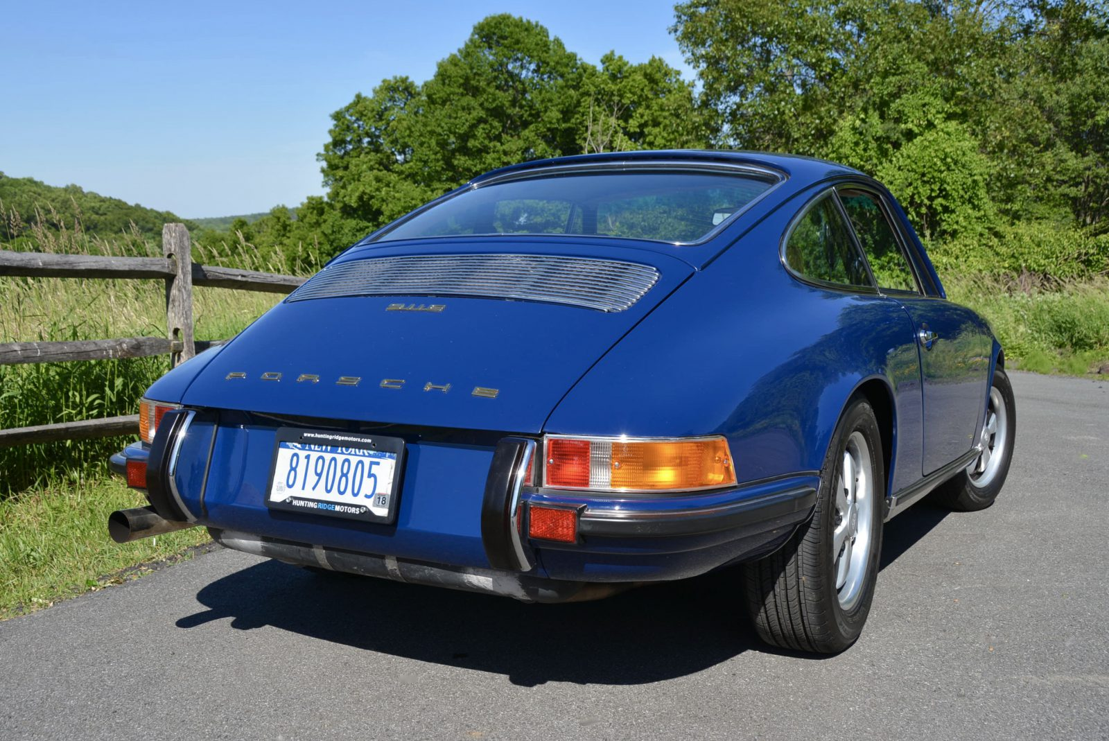 1970 porsche 911e albert blue hunting ridge motors 1970 porsche 911e albert blue hunting