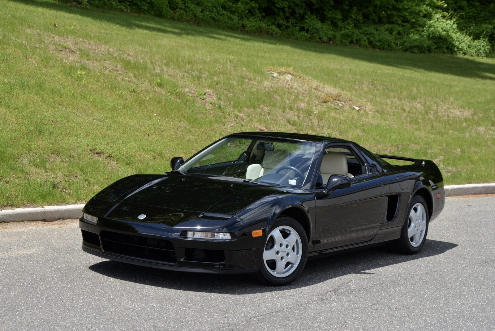 1991 Acura Nsx In Black With Tan Leather Hunting Ridge Motors