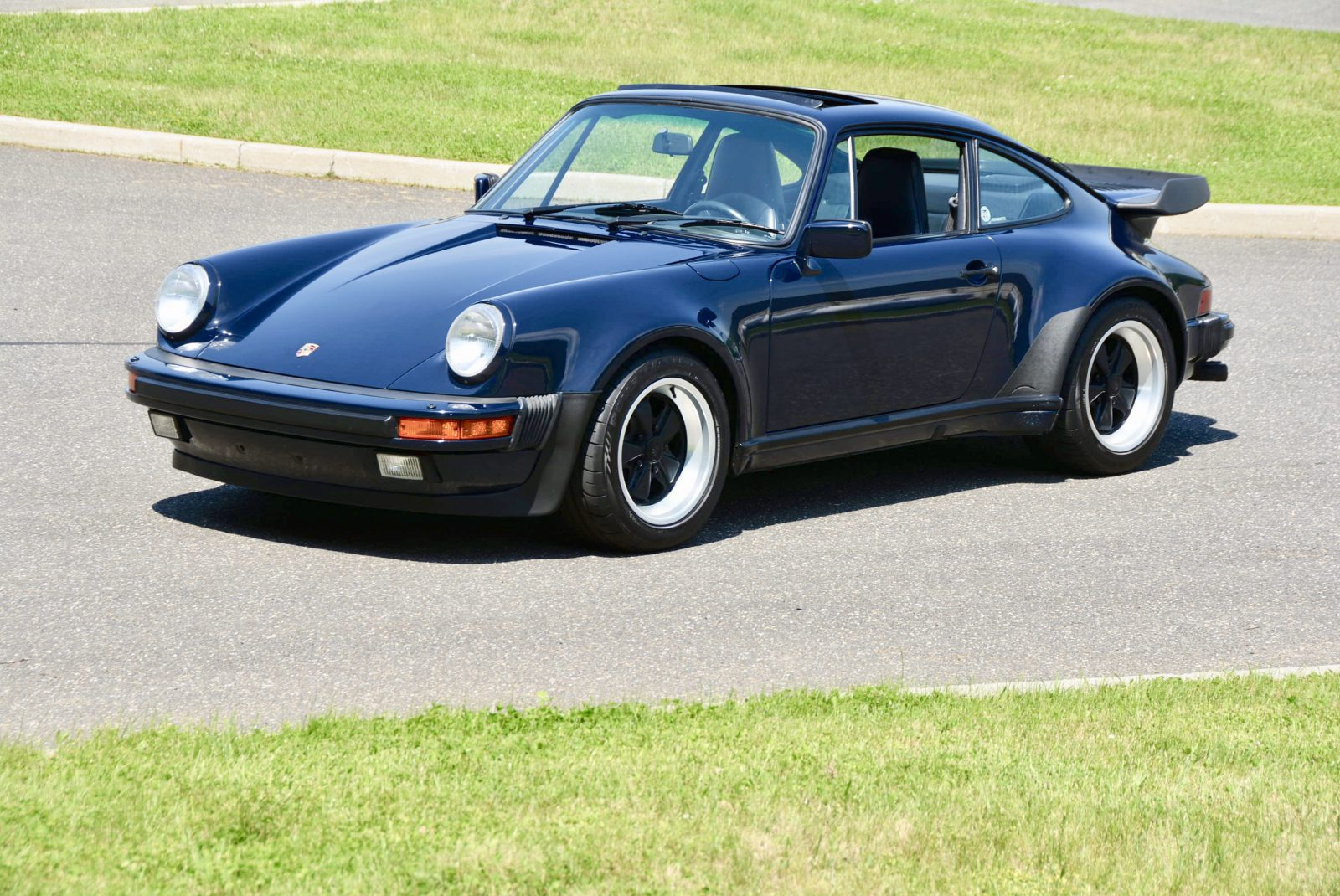 1987 Porsche 930 Turbo In Dark Blue Hunting Ridge Motors